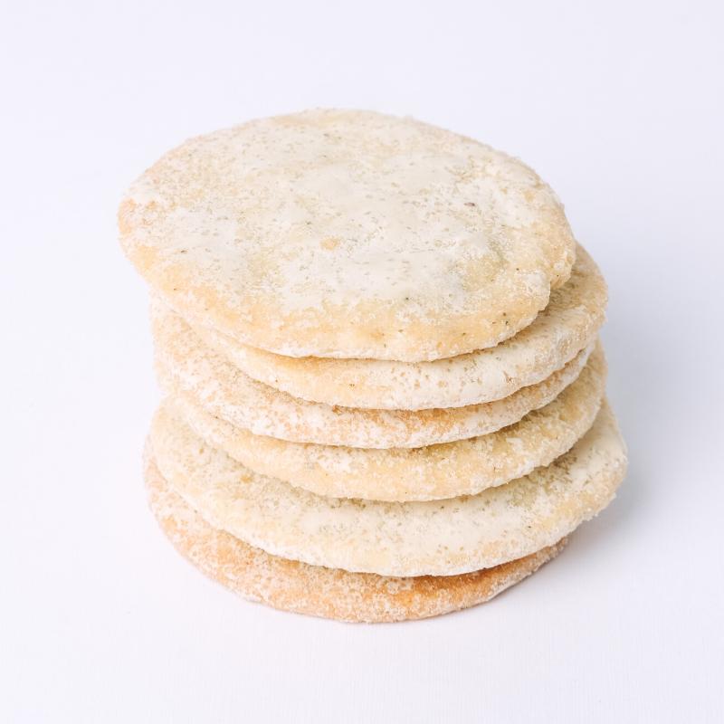 Gorgonzola Basil Cookies
